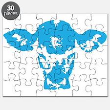 Blue cow Puzzle