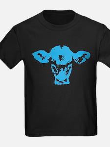 Blue cow T-Shirt