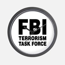 FBI Terrorism Task Force Wall Clock
