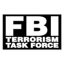 FBI Terrorism Task Force Rectangle Bumper Stickers