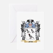 Joan Coat of Arms - Family Crest Greeting Cards