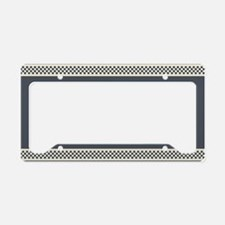 Vintage Racing License Plate Holder