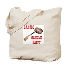 HAPPY BANJO Tote Bag