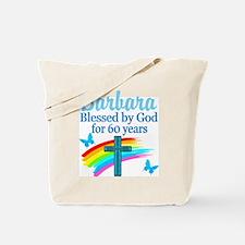 DELIGHTFUL 60TH Tote Bag