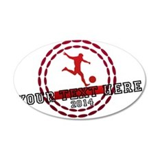 Personalized Sport Tag Wall Decal