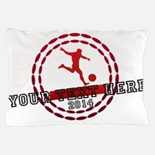 Personalized Sport Tag Pillow Case