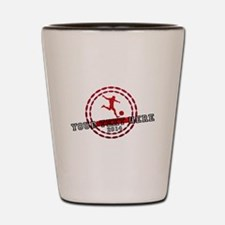 Personalized Sport Tag Shot Glass