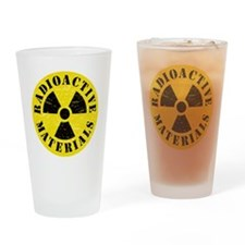 Radioactive Materials Drinking Glass