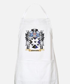 Johnson- Coat of Arms - Family Crest Apron