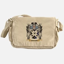 Johnson- Coat of Arms - Family Crest Messenger Bag