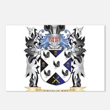 Johnson- Coat of Arms - F Postcards (Package of 8)