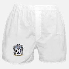 Johnson- Coat of Arms - Family Crest Boxer Shorts