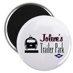 Jolene's Trailer Park Retro Magnet