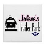 Jolene's Trailer Park Retro Tile Coaster
