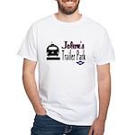 Jolene's Trailer Park Retro White T-Shirt