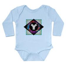 Y - Letter Y Monogram - Black Diamond Y Body Suit