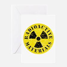 Radioactive Materials Greeting Cards