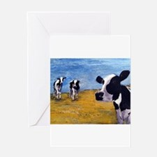 Cow World Greeting Cards