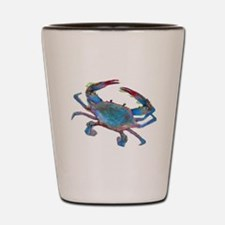 Funny Crabs Shot Glass