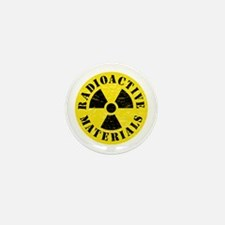 Radioactive Materials Mini Button (10 pack)
