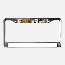 Slice of Life Tango License Plate Frame