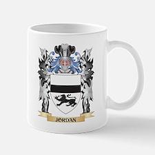 Jordan Coat of Arms - Family Crest Mugs