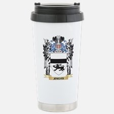 Jordan Coat of Arms - F Stainless Steel Travel Mug