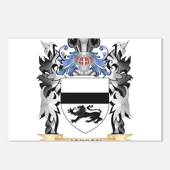 Jordan Coat of Arms - Fam Postcards (Package of 8)
