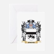 Jordan Coat of Arms - Family Crest Greeting Cards