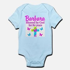 LOVELY 80TH Infant Bodysuit