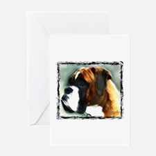 Boxer Dog Greeting Cards