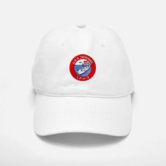 LPH-3 USS Okinawa Baseball Baseball Cap