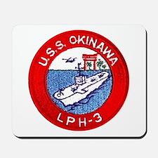 LPH-3 USS Okinawa Mousepad