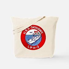 LPH-3 USS Okinawa Tote Bag