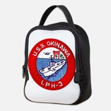 LPH-3 USS Okinawa Neoprene Lunch Bag
