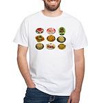 Gelatin Mold White T-Shirt