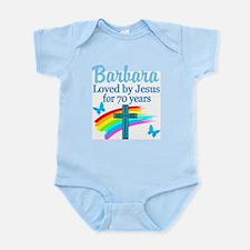 JOYOUS 70TH Infant Bodysuit
