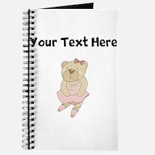 Custom Ballet Bear Journal