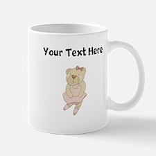 Custom Ballet Bear Mugs