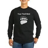 Bear paw Long Sleeve T-shirts (Dark)
