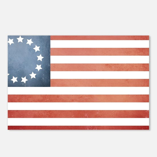 Colonial Flag Postcards (Package of 8)