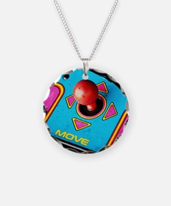 Funny Pac man Necklace