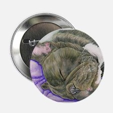"""Sleepy Frenchie 2.25"""" Button (10 pack)"""