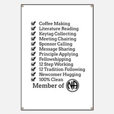 Narcotics Anonymous Banners & Signs | Vinyl Banners ...