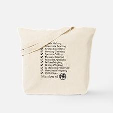 Member Of Na Tote Bag
