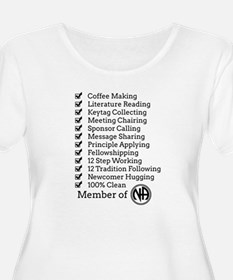 Member Of Na Plus Size T-Shirt