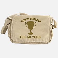 Trophy Husband For 50 Years Messenger Bag