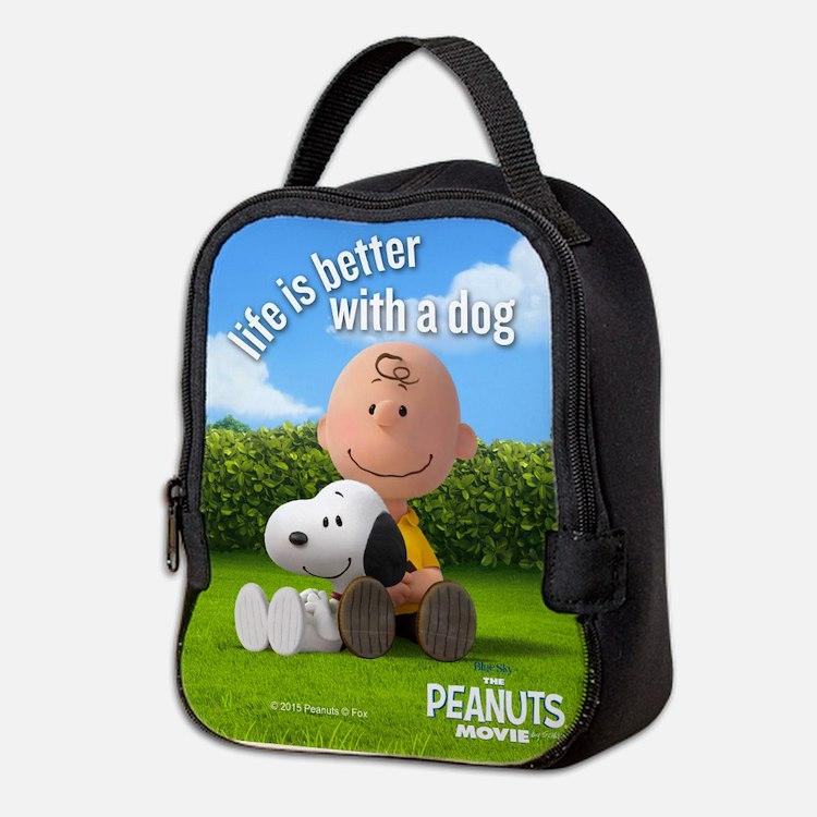 Life is Better Lunch Bag Neoprene Lunch Bag