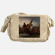 Washington Crossing the Delaware Messenger Bag