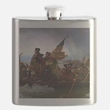 Washington Crossing the Delaware Flask